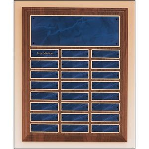 Solid Walnut Perpetual Plaque 12x15